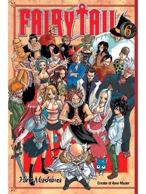 cover image of Fairy Tail, Volume 6